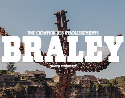 Une création des établissements BRALEY