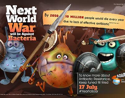 Bacteria world War