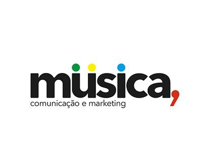 Branding Agência MUSICA