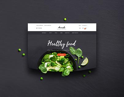 Avocado – eCommerce PSD Template