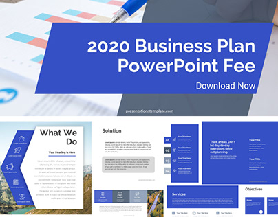 BUSINESS PLAN POWERPOINT TEMPLATE for Free