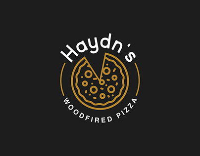 Haydn's Woodfired Pizza - Brand Design