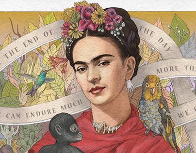 Wise Words on Ribbon: Frida Kahlo, Einstein, Anne Frank