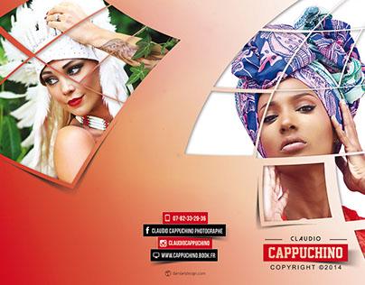 Brochure Mode & Beauty réalisée pour Claudio Cappuchino