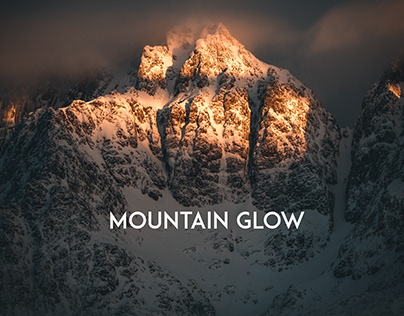 Mountain Glow In Arctic Norway