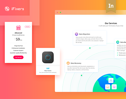 iFixers Website Redesign