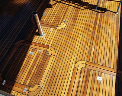 Updating teak deck