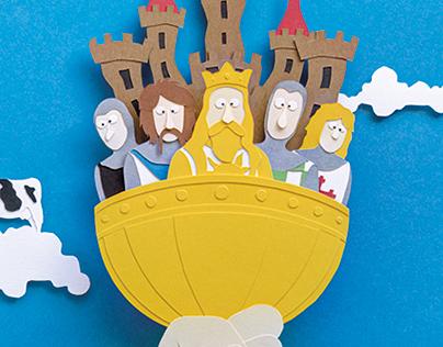 Artús i els seus homes (Spamalot)