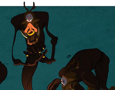 Creatura Mundi: Character Design