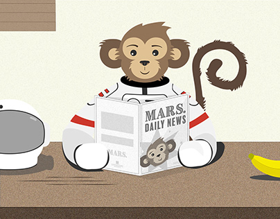 MARS. Project Character Design, Icons, Game Design, etc