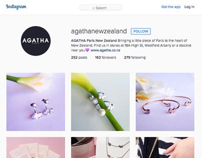 Agatha Paris Social Media Management