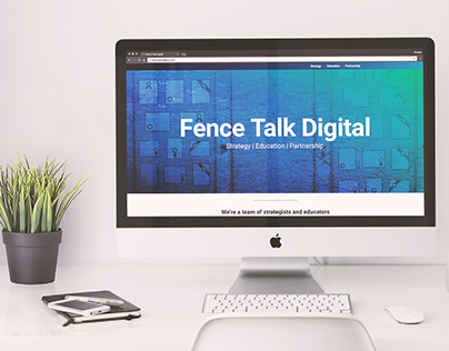 Fence Talk Digital : Website Redesign