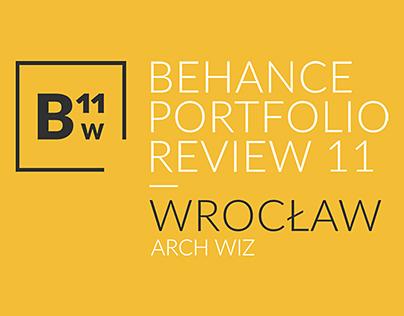Behance Portfolio Review Wrocław 2017 | BW11
