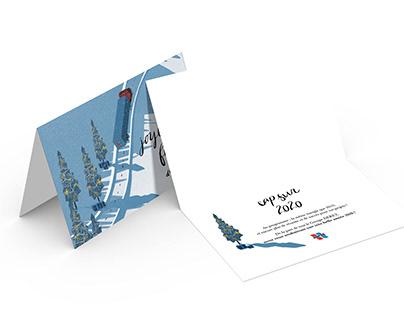 Carte de voeux Motion design pour Deret