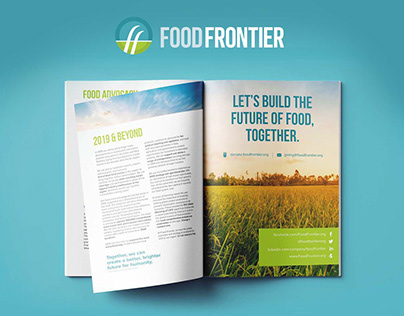 Graphic Design | Food Frontier Australia