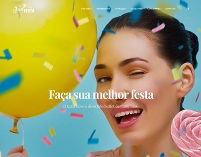 Fun Festa - Web Site