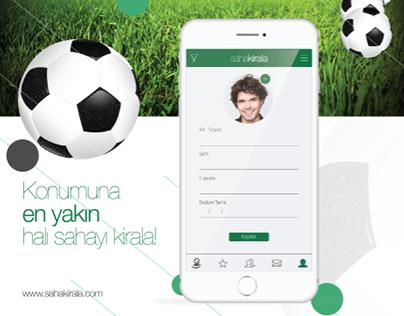 Saha Kirala Logo, Kurumsal Kimlik, APP