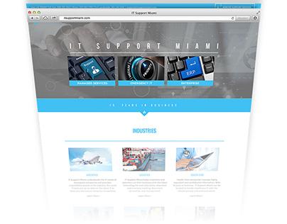 IT Support Miami Website Design