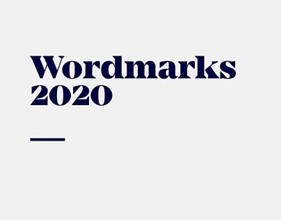 Wordmarks 2020