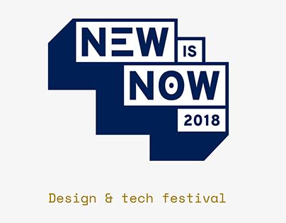 Visual Identity for Fictive Design and Tech Festival