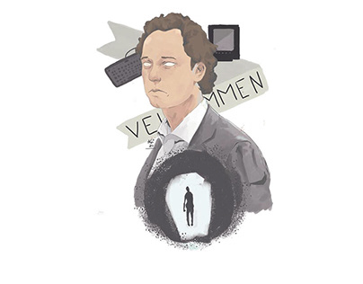 Illustration for the bothersome man interview