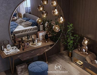 Modern Bedroom Design AL-Kuwait City