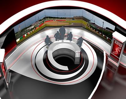 F1 Augmented Reality - Virtual Set   2017