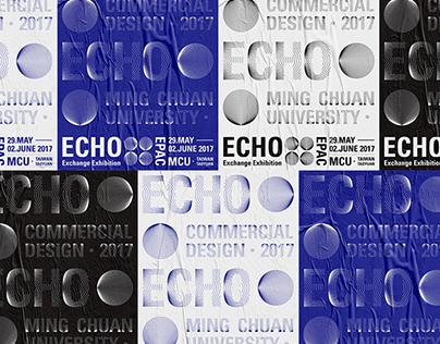 Echo Exchange Exhibition Poster