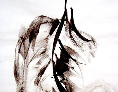Sumi Ink: figure drawing