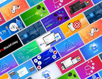 Banners web hosting