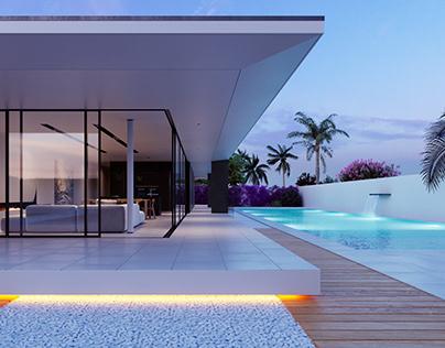 //Beach Villa - IT // CGI