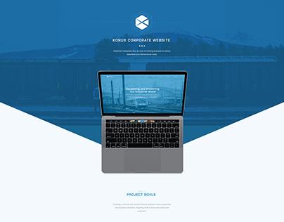 Industrial Internet of Things Corporate Website