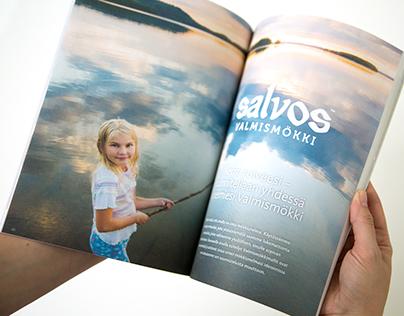 Salvos log cabins & saunas catalog 2016