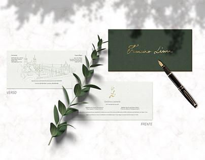 Wedding Invitation CL | 2020