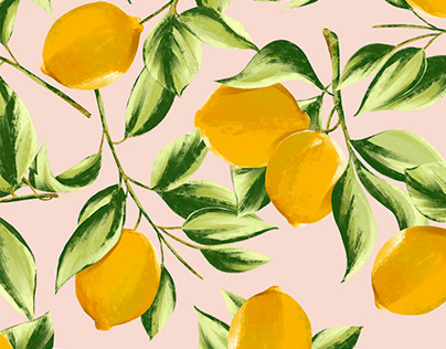 ILLUSTRATION AND PATTERN - Lemonade