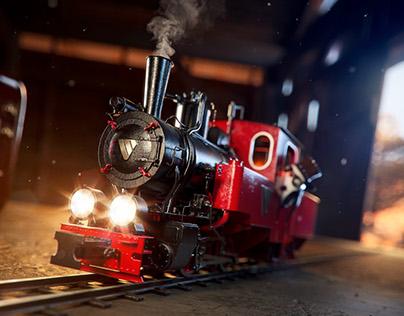 TOY STEAM TRAIN | FULL CGI