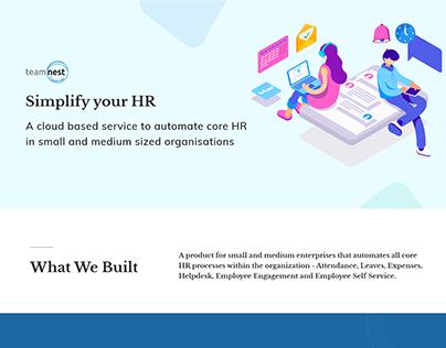 Teamnest, HR, Cloud based Services