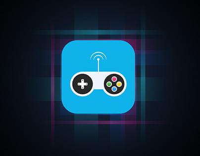 """""""NINTENDO"""" Video Game Wi-Fi Remote App Icon Concept."""