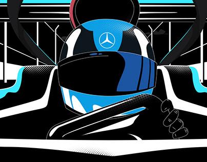 Mercedes Benz // F1 Instagram GP