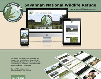 Website Redesign-Savannah Wildlife Refuge