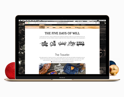 The Five Days Web Graphics