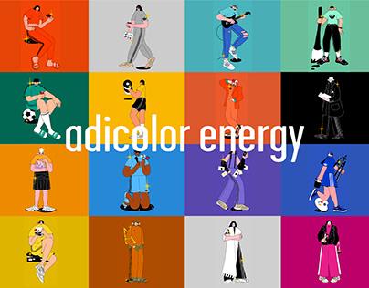 adicolor energy illustration