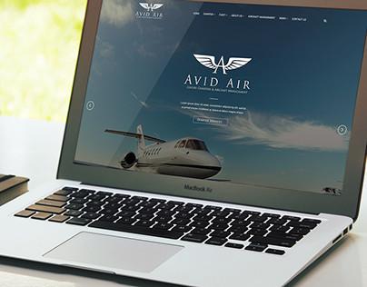 FlyAvid.com Avid Air Website