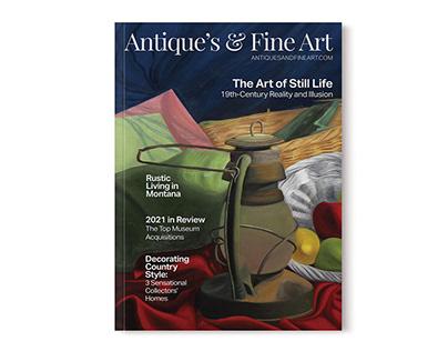 Antique's & Fine Art Cover Design