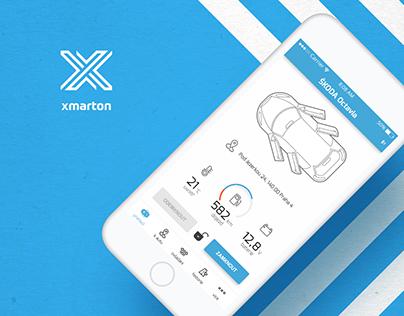 Xmarton - Corporate Identity/MobApp/Web/UX/UI