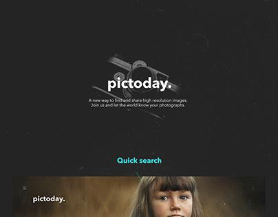 Pictoday Web Design