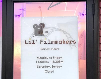 Lil' Filmmakers Logo Redesign