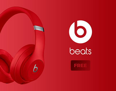 🎧 Beats Banners Free PSD. 10 colors