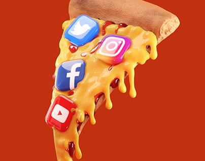 social media fast food