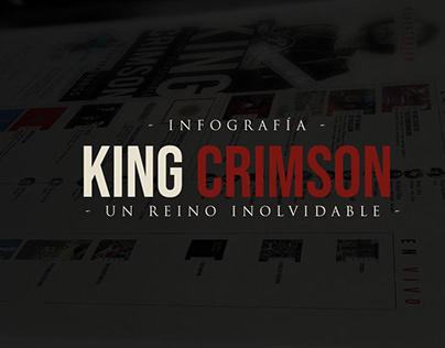 Infografia King Crimson